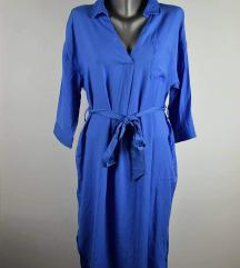 Amisu plava haljina velicina M