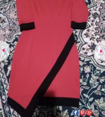 Crvena haljina snižena
