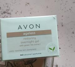 NutraEffects noćni gel za obnavljanje kože lica