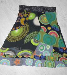 Predivna original Desigual suknja sa vezom
