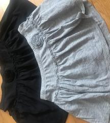 2 suknjice trn