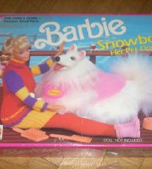 Barbie kućni ljubimac samojed novo