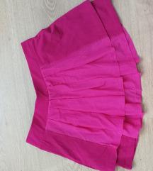Roza mini suknjica