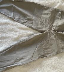 Zara worker pantalone crop straight fit high rise