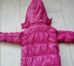 Roze jakna za devojčice 3 godine