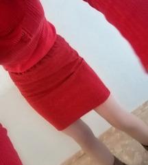 Suknja carierre crvena ❤️💞❤️rasprodaja