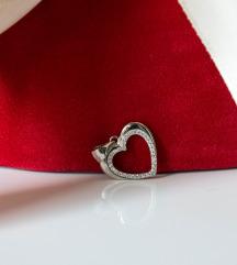 Privezak za ogrlicu / srce