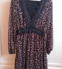 Haljina Zara mini cvetna
