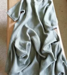 Lanena haljina MINT boje vel. XXL