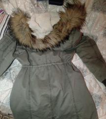 Zimska maslinasta jakna