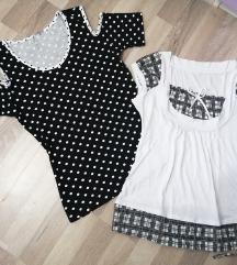 Majice Black&White (2kom.) - vel. S/M