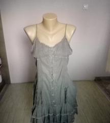 Maslinasto zelene haljina-bretele M