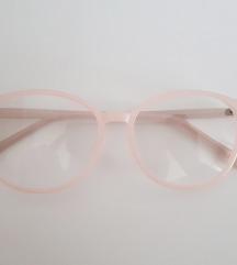 Zenski ram bez dioptrije bledo roze