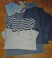 SET-dve majice i cipkani sako