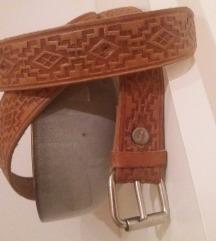 Sniženje na 400 din Kožni kaiš sa etno motivima