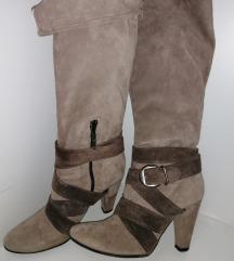 Kožne antilop čizme