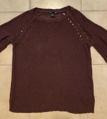 HM bordo džemper