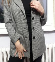 Oversize sivi sako/blejzer