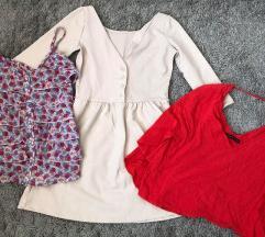 2 majice i haljina ZARA