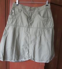 Suknja TFY, maslinastozelena