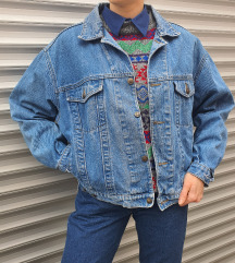 Smily Blue vintage teksas jakna M/L