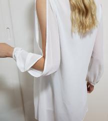 Predivna bela unikatna haljina
