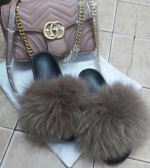 Papuce prirodno krzno