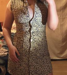 Vintage haljina sa cvetnim printom