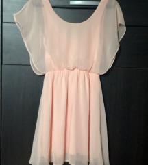 Svečana haljina boje kajsije