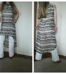 Capri Collection asimetrična providna haljina