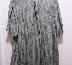 Retro viskozna bluza XL