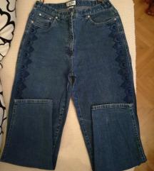 Mom jeans farmerke s vezom
