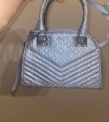 Guess srebrna torba