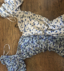 Stradivarius nova haljina sa puf rukavima