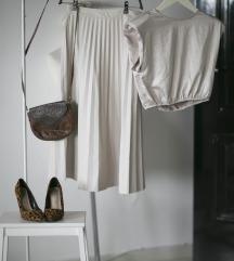 Rezz Svetlobez Reserved plisirana suknja, vel. S