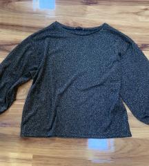 Zara majica polu-puf rukav