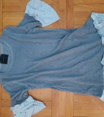 Siva tunika/majica M/L NOVO
