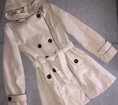 Zimski kaput krem