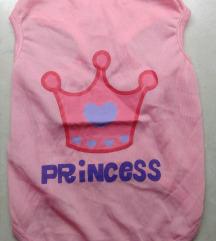 NOVO majica za psa M princeza