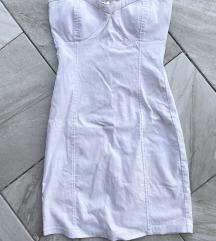 Bela korset haljina