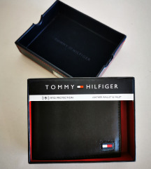 Tommy Hilfiger muski kozni novcanik crni 6