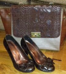 Braon cipele+braon torba=800
