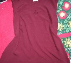 Bordo letnja bluza