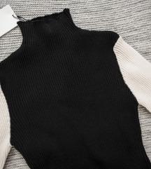 Crno- bela Zara rolka, vel. M