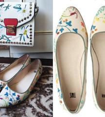 Camper floral kozne cipele