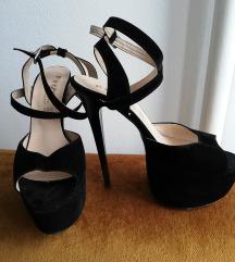 Sandale visoka stikla