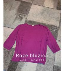 Roze bluzica L