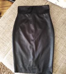 Pencil suknja s blago sjajnim efektom