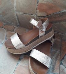 sandale zlatne extra