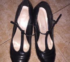 snizenoNew Look klasicne crne cipele sa kaisicem